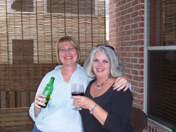 The hostess and Tonto