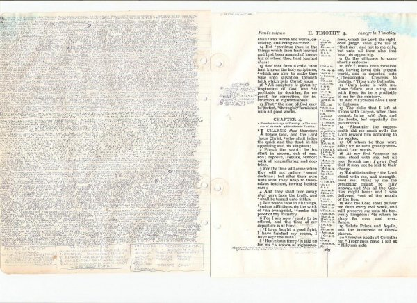 old bible, page 2