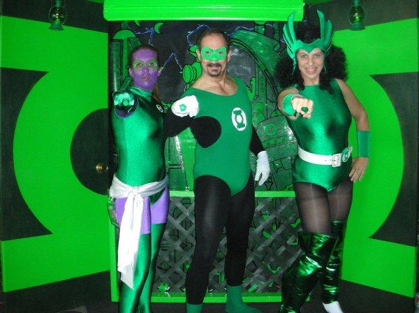 Green Lantern Babes!