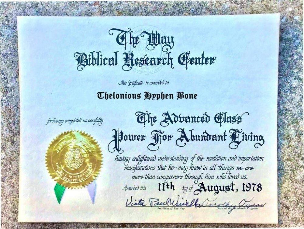 Advanced Class diploma_Thelonious Hyphen Bone.jpg